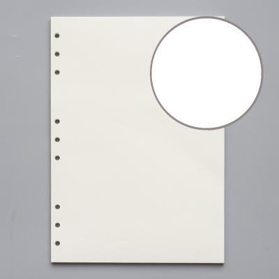 B5 blank 9 holes 45 sheets of paper