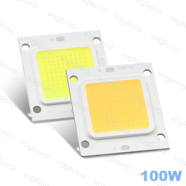 LED Bead 100W High Power Cob 24MIL White Warm White 6000LM For Highbay Lamp Flood Lamp Street Lamp Leads PACKET