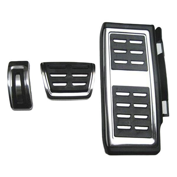 Dewtreetali Car styling Sport Fuel Brake Dead Pedal Cover Set DSG Per Seat Leon Per Octavia VW golf 7 Accessori Auto