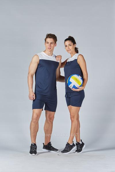 best selling Donne di alta Qualità Pallavolo Imposta Maglie Divise Personalizzate Vestito di Sport Kit Formazione di Pallavolo Femminile Senza Maniche