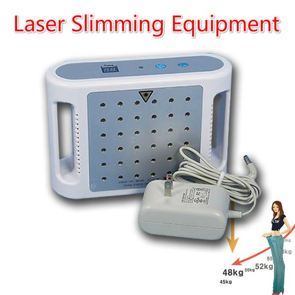 Mini Lipolaser Slimming Machine 650nm 25 / 36 Diode Lipo Laser Lipolysis Weight Loss Laser Liposuction Machine For Personal Home Use