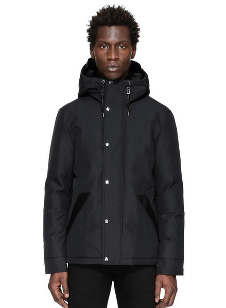 Men/women Parkas LONG WINTER Mac-age COBAIN-1 Down & Parkas WITH HOOD/Snowdome jacket Brand Real Raccoon Collar White Duck Outerwear & Coats
