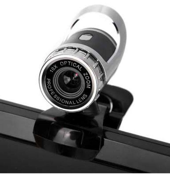 12 Megapixel HD Web Camera USB 2.0 Web Cam 360 Degree Webcam with Sound Absorption Mic for PC Laptop DJA99