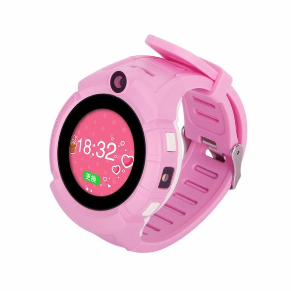 Children Smart Watch Safe-keeper Sos Call Anti-lost Monitor Real Time Tracker Base Station Location Gps Watch Smartwatch For Kid Watches