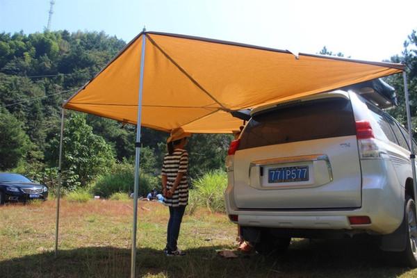 fotoğraf gibi Grntamn Çapı 2m 4 Yan Sektörü yan araba çadır tente 2m çatı çadır sunshelter güneş gölge