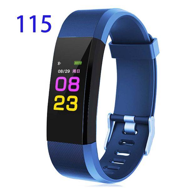 Sporch ID115 Smart Wristband Fitness Tracker Watch Alarm Clock Step Counter Smart Bracelet Band Sport Sleep Monitor Smartband