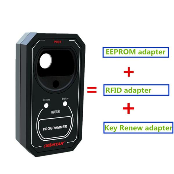 X300 DP / X300 DP Plus / Anahtar Master için OBDSTAR P001 Programcı DP = EEPROM adaptörü, RFID adaptörü ve Anahtar Yenileme adaptörü 3-in-1