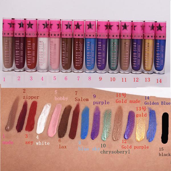 Dragon Star New Makeup Liquid Lipstick Cosmetic Matte Lipstick for Women Best Make Up Lip Stick