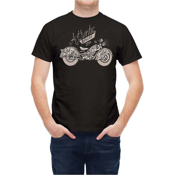 Camiseta estilo retro motociclista Easy Rider T25X79