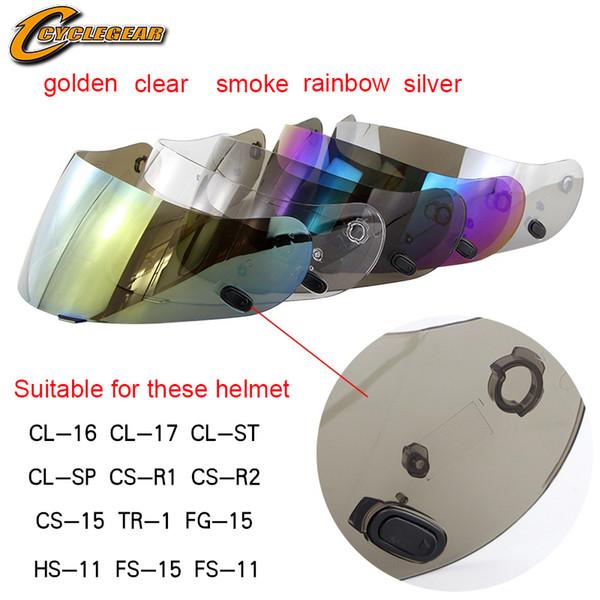 top popular HJC motorcycle helmet visors fit for HJC CL-16 CL-17 CL-ST CL-SP CS-R1 CS-R2 CS-15 TR-1 FG-15 HS-11 FS-15 FS-11 helmet lens 2021