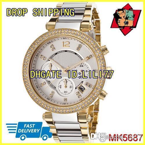 100% первоначально Япония движение Новый MK5687 MK5688 MK5774 MK5781 MK5885 MK5896 MK6106 хронограф Паркер Шамбре женские часы