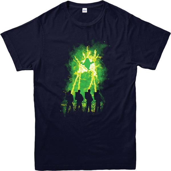 Ghostbuster T-Shirt Mais Fino Zapped Comédia Americana Adulto E Tamanhos  Dos Miúdos Frete Grátis Homens T Shirt Tshirt Verão Estilo Moda Masculina ebee2c468f2ba