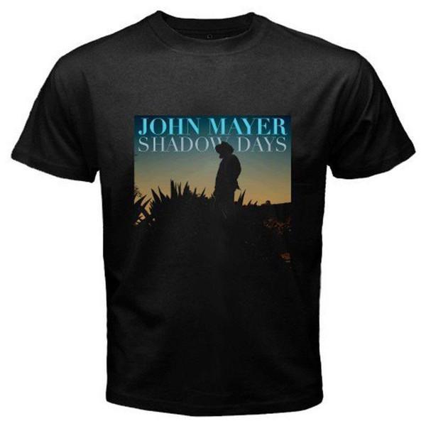 John Mayer Gölge Günleri Süreklilik Pop Rock Şarkıcısı Tişört