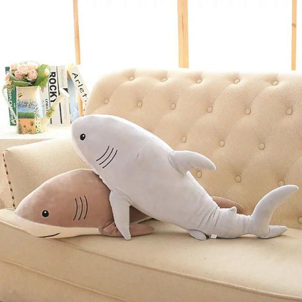 animal en peluche peluche océan de bande dessinée jouets doux mignon oreiller super doux animal en peluche requin poupées meilleurs cadeaux pour les enfants ami
