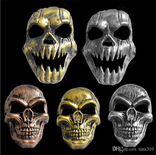Neue Retro- Masken CS 3D Halloween stellen Schädelmaske, Horrorkleid-Parteischablone, CS-Gesichtsschutz, Gesichtsmaske gegenüber. I304