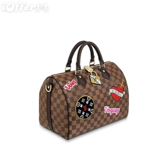 Sac A Main Spedy 30 Cm Bandouliere N40060 Stickers Bags Women Handbags Shoulder Messenger Bags