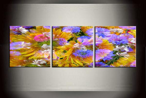Gerahmt / Ungerahmt Große Moderne Wandkunst Leinwand Giclée-Drucke Malerei Abstraktes Bild Decor 3 Stück Sets Home Schlafzimmer Wohnzimmer Dekor abc26