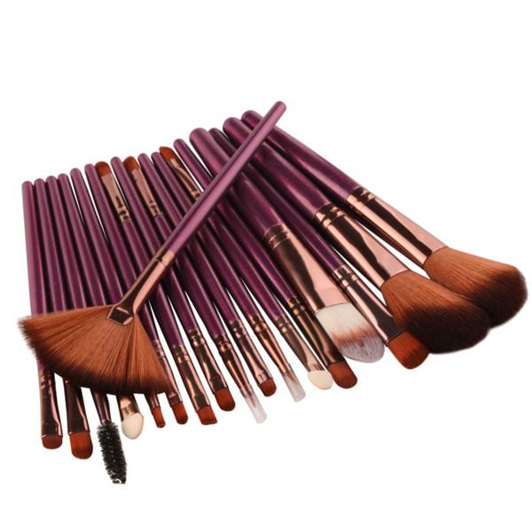 11.11 Продажи 18 шт. Набор кистей для макияжа Набор косметических пудр для теней для век Blush Blending Blending Beauty Brush Maquiagem