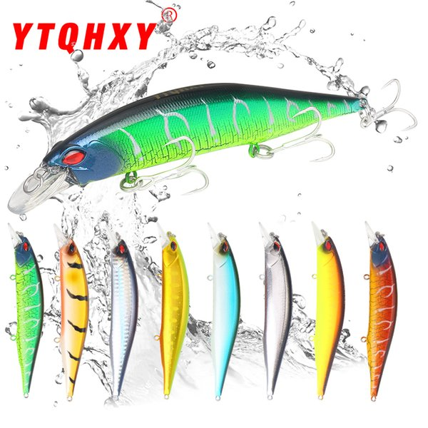 YTQHXY 2018 Quality Professional Hard Bait 135mm 19.2g Floating Minnow Fishing Lure Wobbler Bass Pike Artificial Lures YE-498 Y18100806