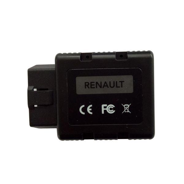 Diagnostic Tool Renault-COM Bluetooth Auto OBD2 Diagnostic Tool Renault COM Scanner Replacement Of Renault Can Clip Free Ship