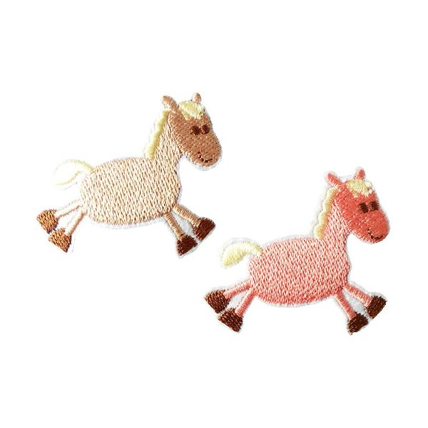 Embroidery patch Horse shape Iron patch cloth Back gum appliques skirt jeans jacket racksack sewing decorative accessories DL_CPIA009