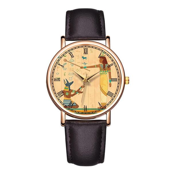 Baosaili nueva llegada números romanos cara reloj carácter histórico  mujeres reloj de pulsera hombres reloj relojes 934172aba4ed