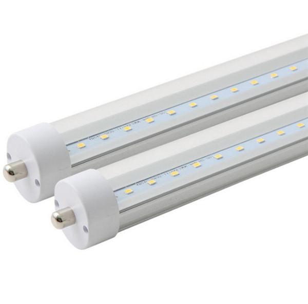 LED T8 FA8 Single Pin LED leuchtet 2ft 3ft 4ft 10W 14W 18W SMD2835 LED Leuchtstofflampenlampen AC110-265V
