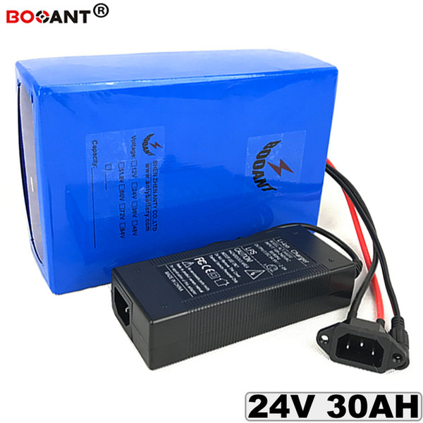 24V 30AH Lithium battery for Bafang BBSHD BBS02 250W 300W 500W Motor 24V 30AH Electric bike Lithium ion Battery +2A /5A Charger