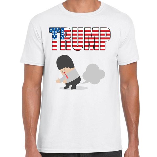 grabmybits - Trump divertenti adulti maglietta, Fart, Donald, regali, Stati Uniti d'America, Tee