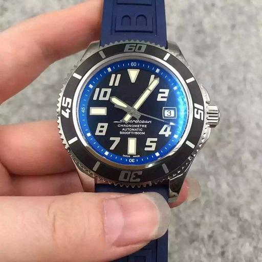 42mm Chronometre Abyss A1736402 dive diver pro dive zf Best Inner Bezel Rubber strap A.2824 automatic men watch sapphire crystal wristwatch