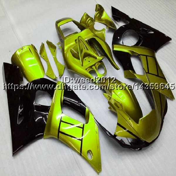 manufacturer customize motor Fairing YZFR1 1998 1999 motorcycle Full fairing kits for Yamaha YZF-R1 1998 1999 ABS Plastic Motorcycle panels