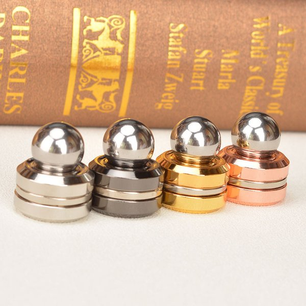 Artificial Satellite Top-spinner-toy Magnet Fingertip Yoyo Ball Mini Metal Finger Yo-yo Electroplating Puzzle Toys Magic Yoyo