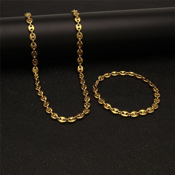 55mixed Colors_gold Bracelectnecklace