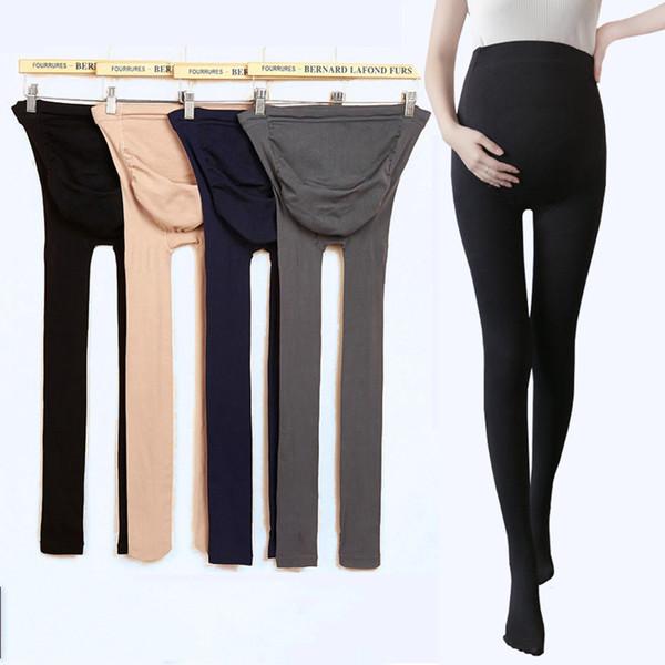 879f088f46c New Fashion Maternity Leggings 4 Colors Pregnant Women Tights Maternity  Pants Velvet Elastic Women Leggings Spring Autumn Pants