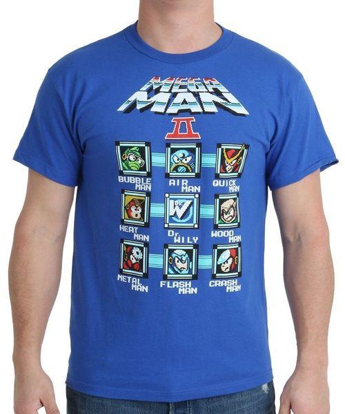 Mega Man Cast Blocks 100% Cotton Short Sleeve O-Neck Tops Tee Men Adult Slim Fit T Shirt S-XXxl Classic Tops Tee Shirts