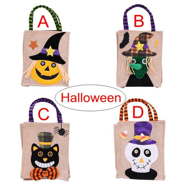 top popular Christmas Halloween Pumpkins Large Size Gift Bags Halloween Decoration Non-woven Pumpkin Tote Shopping Mall Hotel Cookies Apple Gift Bag 2021