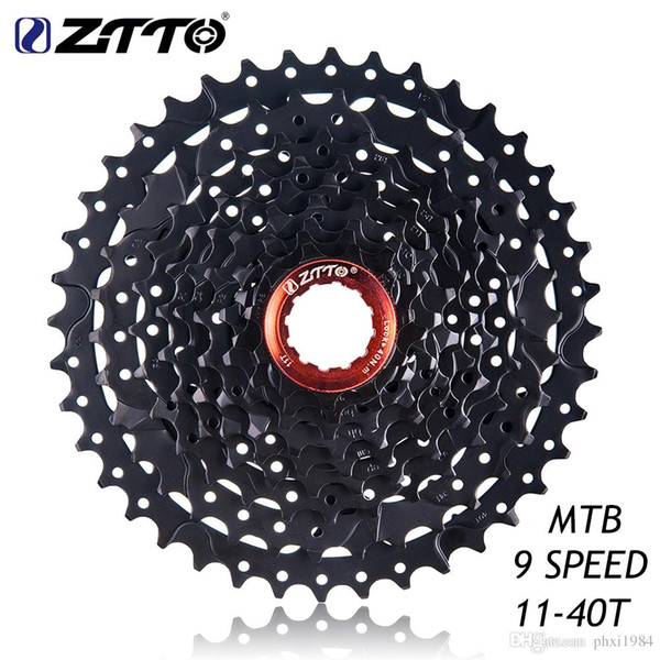 HITO ZTTO MTB Mountain Bike Bicycle Parts 9 s Speed Freewheel Cassette 11-40 t WIDE RATIO Compatible for Shimano M430 M4000 M3000