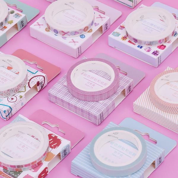 0.8cm*7m Lace decoration washi tape DIY decoration scrapbooking planner masking tape adhesive kawaii stationery 2016