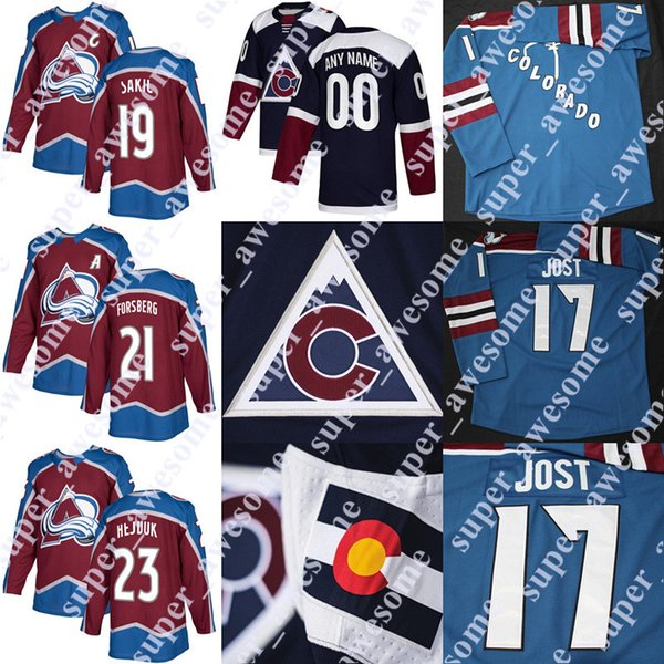 sports shoes 83269 9d8f9 ado Avalanche Jersey 19 Joe Sakic 26 Peter Stastny 23 Milan Hejduk 21 Peter  Forsberg From Super_awesome, $33.9 | DHgate.Com