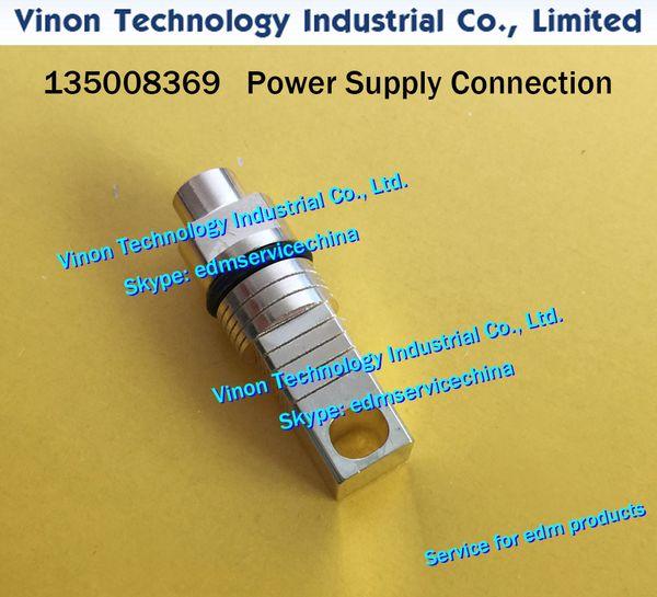 (1pc) 135008369 edm Power Supply Connection for ROBOFIL 290,300,310,500,510 CNC WIRE CUT EDM PARTS 135.008.369 Current supply contact unit
