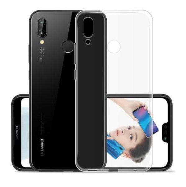 Claro transparente suave de silicona TPU Funda para Huawei P20 Lite P20 Pro P10 P9 Plus P8 Lite 2017 P cubierta inteligente
