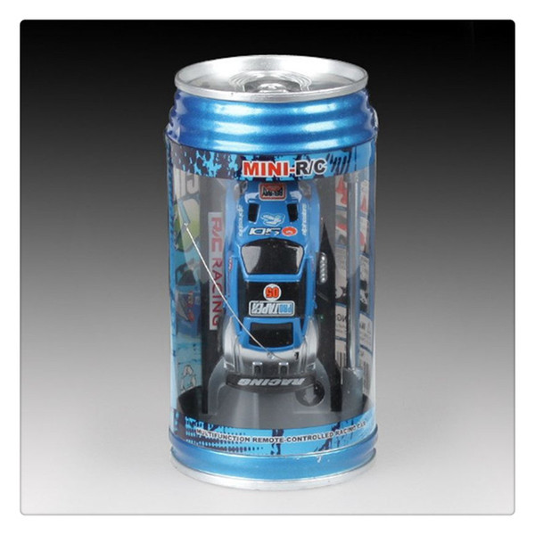Wholesale Mini Coke Can RC Car Portable Remote Control Racing Car Toy for Kids Birthday Gifts Hot Sale