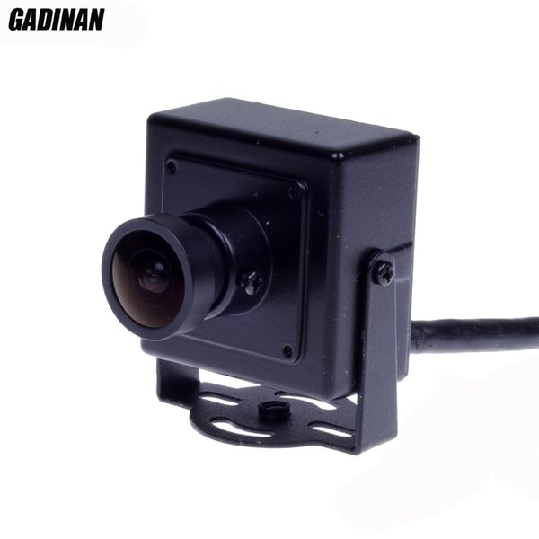 GADINAN 2.1mm 150 degrees Lens Wide Angle 720P CMOS 1.0MP CCTV Mini IP Camera P2P Plug and Play support ONVIF