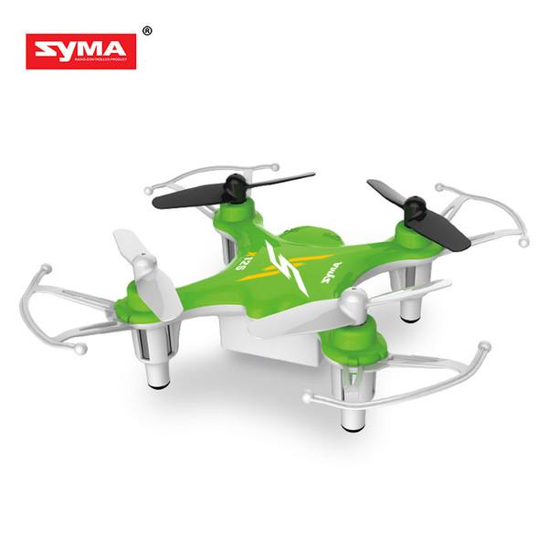 SYMA Mini Drone X12S 4CH 6-Axis Gyro Uzaktan Kumanda RC Helikopter Quadrocopter Cep boyutunda Dron Kapalı Oyuncaklar Yılbaşı Hediyeleri