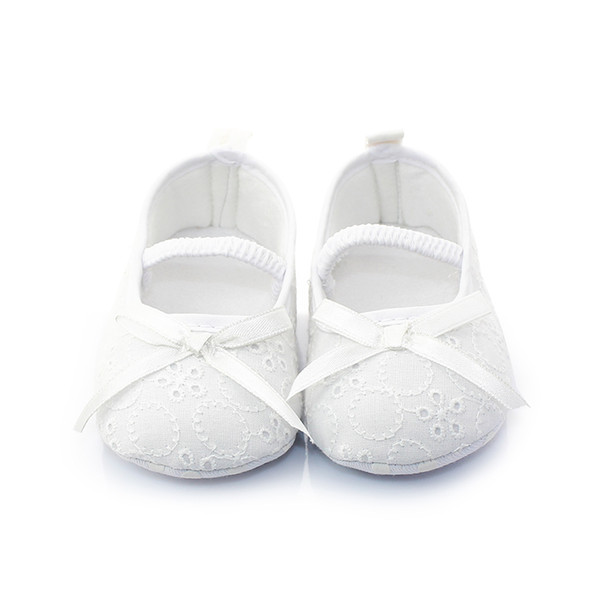 Delebao America And Europe White Christening/Baptism Shoes Unique Serious Solemn Ceremony For Newborn Baby