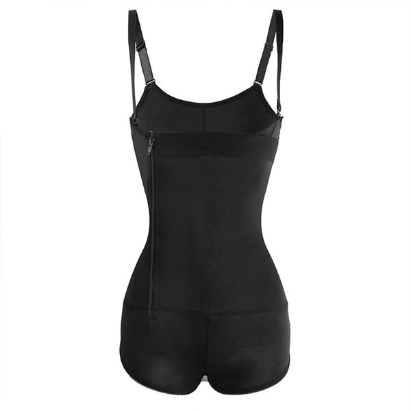 Women Sexy Body Shapers Front Zipper Corset Shapewear Slimming Underwear Butt Lifter Underbust Tummy Control Bodysuits Waist Trainer