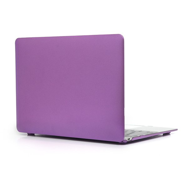 """Metal Style Plastic Hard Shell for Macbook 12 Inch Case Protective Cover for Apple Macbook Retina 12.1"""" Model A1534 Laptop+Keyboard Cover"""
