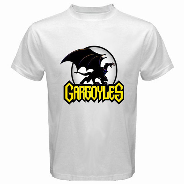 New Gargoyles Fiction Icon Video Games Men's White T-Shirt Size S M L XL 2XL 3XL Tee Shirt Unisex More Size And Colors