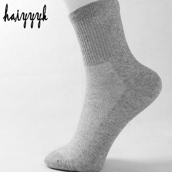 Ankle 20pcs =10pair Solid Mesh Men 'S Socks Plain Classic Summer Breathable Thin Socks Short Calcetines Hombre Size Eur 38 -43