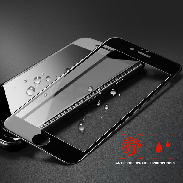 Pellicola salvaschermo con schermo pieno 4D curva per iPhone 7 6S 8 6 Vetro temperato con pellicola per Apple iPhone 6 S 6s 7 8 Plus